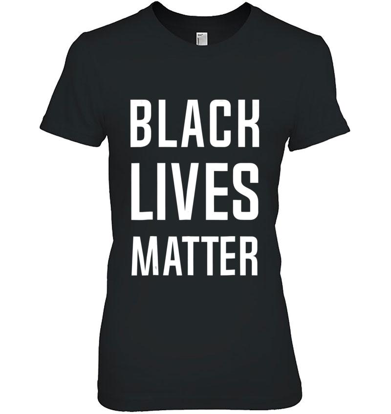 Black Lives Matter Anti-Racism Tshirt Men Women Black Hoodie