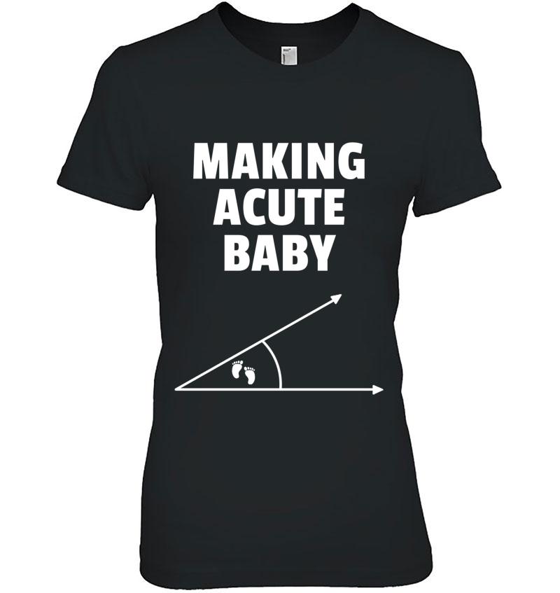 Making Acute Baby Nerdy Pregnancy Announcement Hoodie