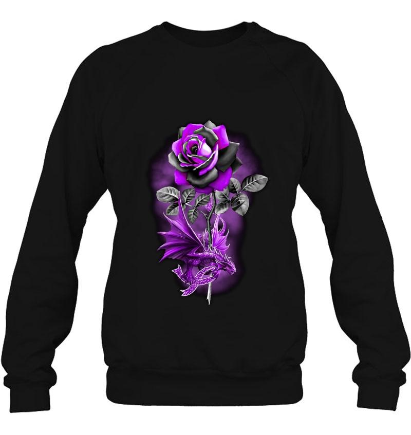 Purple Rose Dragon Mugs