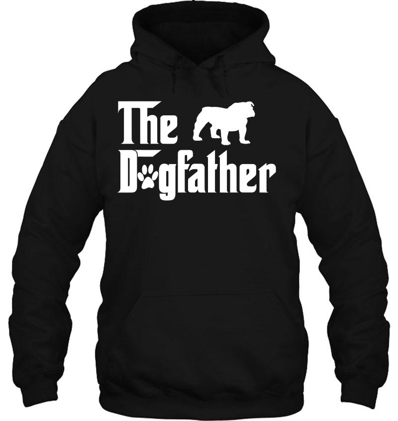 The Dogfather English Bulldog Dog Tshirt For Father Mugs