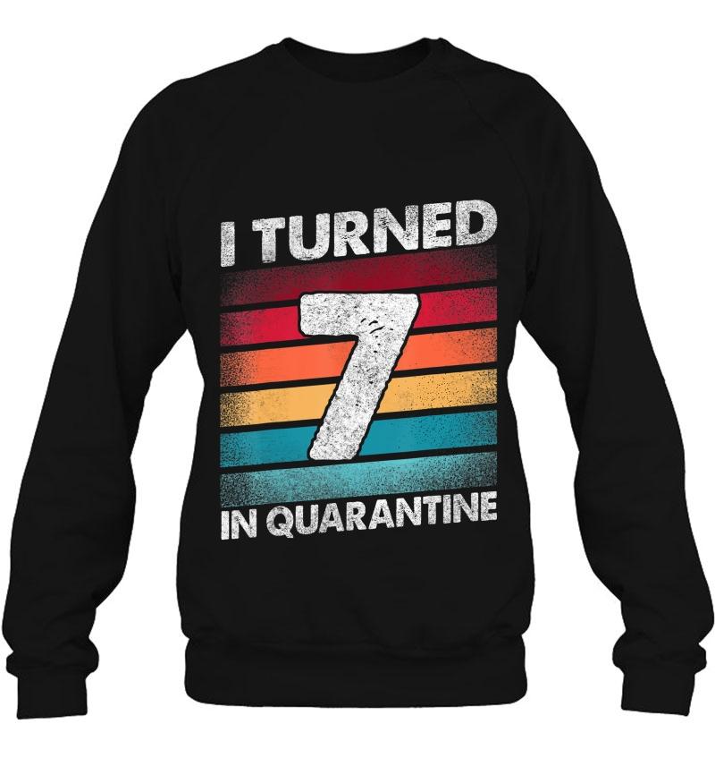 I Turned 7 In Quarantine 2020 7 Years Old 7Th Birthday Mugs
